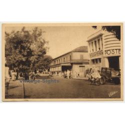 Dakar / Senegal: L'Avenue William Ponty / Poste (Vintage Postcard)