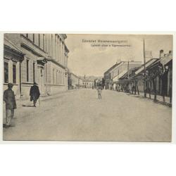 Máramarosszigetröl / Hungary: Lyceum Utcza - Lyceum Street (Vintage Postcard 1912)
