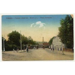 Királyhida - Bruckneudorf / Hungary: Franz Josefsplatz (Vintage Postcard 1916)