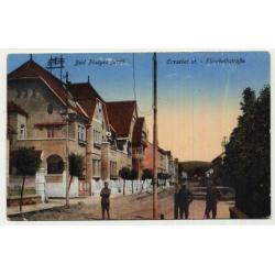 Bad Pöstyén - Pistian - Slovakia: Erzsébet ut. - Elisabethstraße (Vintage Postcard ~1920s)