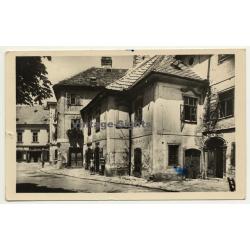 Sopronból - Ödenburg / Hungary : Street View (Vintage RPPC)
