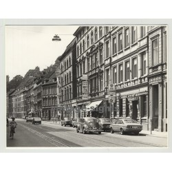 42117 Wuppertal - Street View: Friedrich-Ebert Strasse - VW Beetle (Vintage Photo 1970s)