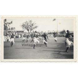 Zanzibar: Dancers At Tribal Meeting (Vintage Photo ~1940s/1950s)