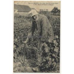 Types Du Berry - Les Vieux Amis De George Sand: Le Père Thomas (Vintage Postcard ~1910)
