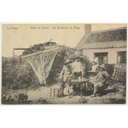 La Panne / Belgium: Dans Les Dunes - Les Ecumeurs De Plage (Vintage Postcard ~1920s)
