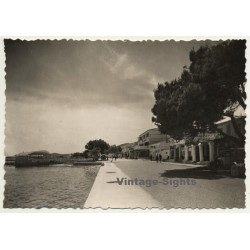 Pollensa - Pollença / Mallorca: El Puerto / Hotel Miramar (Vintage RPPC ~1950s)