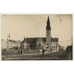 Helsinki / Finland: National Museum / Kansallis Museo (Vintage RPPC Gelatin Silver)