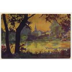 Tondern / Denmark: Abstimmungsgebiet Schleswig (Vintage Postcard ~1920s)