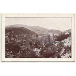 Maribor - Marburg / Slovenia: Town View (Vintage Postcard)