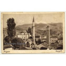 Sarajevo / Bosnia & Herzegovina: Capajebo - Minaret (Vintage Postcard 1933)