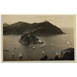 San Sebastian / País Basco: Vista Desde El Monte Urgull...