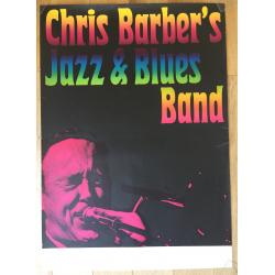 Chris Barber @ Southborder Jazzclub (Vintage Jazz Poster 196?)