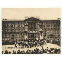 London / UK: Buckingham Palace - Changing Of The Guard...