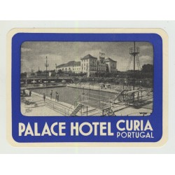 Palace Hotel - Curia / Portugal (Vintage Luggage Label)