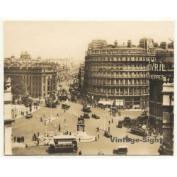 London / UK: The Strand & Grand Hotel - Charing Cross (Vintage...