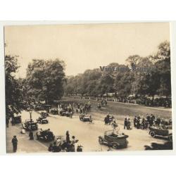 London / UK: Rotten Row - Hyde Park - Horses (Vintage Photo...