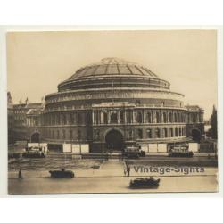 London / UK: Royal Albert Hall - Kensington (Vintage Photo...