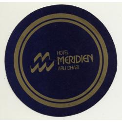 Abu Dhabi / United Arab Emirates: Hotel Meridien (Vintage Self...