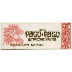 American Samoa: Hotel Pago Pago Intercontinental (Vintage Self...