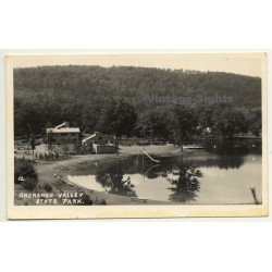 New York / USA: Chenango Valley State Park (Vintage Postcard...