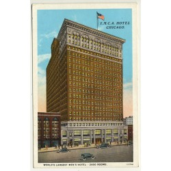 Chicago / USA: Y.M.C.A. Hotel - World's Largest Hotel (Vintage...