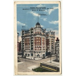 New York / USA: Hotel Belleclaire, Broadway - 77th Street...