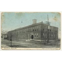 Mexico - Missouri / USA: Shoe Factory (Vintage Postcard 1910)