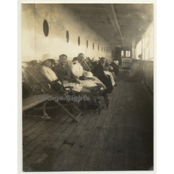 Trip To Congo-Belge: On The Deck Of The S.S. Anversville *1...