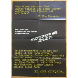El Che Guevara - Stosstrupp Ins Jenseits (Vintage German Movie Poster 1968)