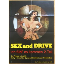 Sex And Drive - Ich Fühl' Es Kommen 2.Teil (Vintage German Movie Poster A1)