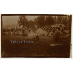 Congo-Belge: Great Shot Of Tribal Dancers In Motion (Vintage...