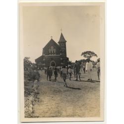 Congo-Belge: Excursaion À La Mission De La Kafulse (Vintage...