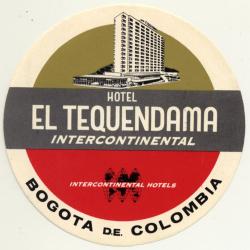 Bogota / Colombia: Hotel Tequendama Intercontinental *1...