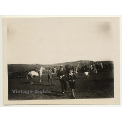 Tanger / Morocco: Polo Player On Horse / Spectators C.C.D.T....