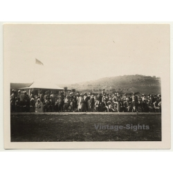 Tanger / Morocco: Polo - Spectators - Country Club...