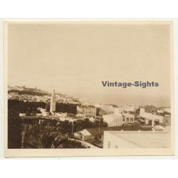 Morocco: View Over Tanger Taken From Hotel Villa De France *1...