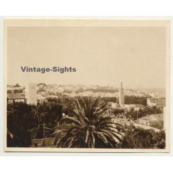 Morocco: View Over Tanger Taken From Hotel Villa De France *2...