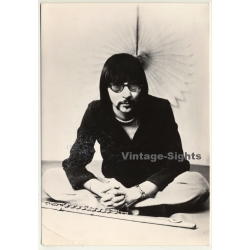Chris Hinze - Jazz Flute Player *2 (Vintage CBS Promo Photo...