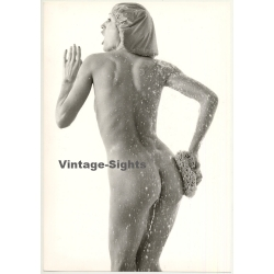 Nude Female Shower Study *4 (Vintage Photo 1980s Wolfgang...
