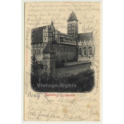 Marienburg - Malbork / Poland: Südostecke (Vintage Postcard 1900)