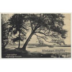 Upalty / Poland: Insel Upalten - Angerburger Aussicht (Vintage...