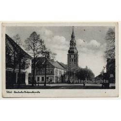 Tilsit - Ostpreußen / Russia: Deutsche Ordenskirche (Vintage...