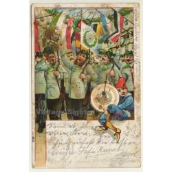 Gruss Vom Schützenfest / Greeting From Rifle Festival (Vintage...