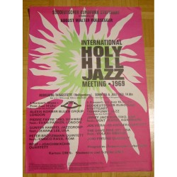 International Holy Hill Jazz Meeting - Original Vintage Concert Poster  '69