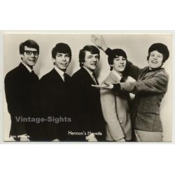 Herman's Hermits *1 / Electrola - Beat (Vintage Fan RPPC ~1960s)