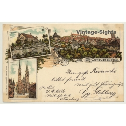 Germany: Gruss Aus Nürnberg / Kunstanstalt Rosenblatt (Vintage...