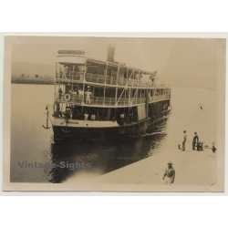 Tanzania: S.S. Steamboat Prince Leopold Near Jetty (Vintage...