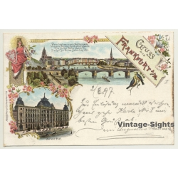 Germany: Gruss Aus Frankfurt A/M. - Neue Post (Vintage PC...