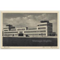 Munich / Germany: Der Neue Flughafen / Airport (Vintage...