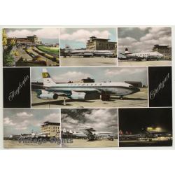 Germany: Flughafen Stuttgart - Lufthansa / Airport (Vintage...